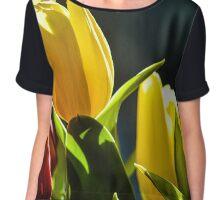 Tulips I Chiffon Top