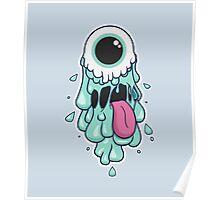 Trippy Slime Monster Poster