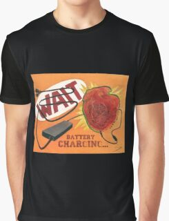 Heart Charging Battery - pop style Graphic T-Shirt