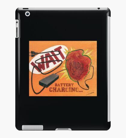 Heart Charging Battery - pop style iPad Case/Skin