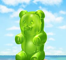 Huu Bear by Almanzano