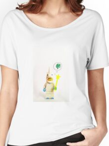 Lucky unicorn Women's Relaxed Fit T-Shirt