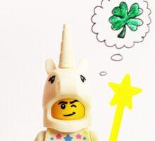 Lucky unicorn Sticker