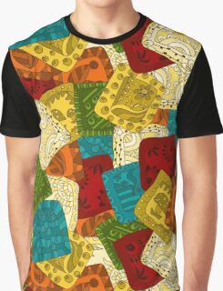 Abstract background.  patchwork pattern Graphic T-Shirt