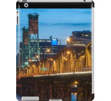 Hawthorne Bridge at Dusk iPad Case/Skin