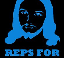 REPS FOR JESUS BLUE by BelfastBoy
