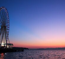 Seattle Sunset by George Grimekis