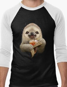 SLOTH & SOFT DRINK Men's Baseball ¾ T-Shirt