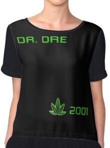 -MUSIC- Dr Dre 2001 Cover Chiffon Top