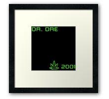 -MUSIC- Dr Dre 2001 Cover Framed Print