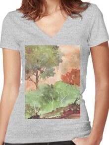 Plant for the Planet Women's Fitted V-Neck T-Shirt