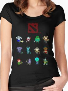 dota 2 pixelbatch Women's Fitted Scoop T-Shirt