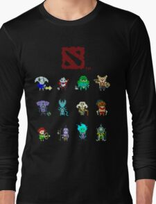 dota 2 pixelbatch Long Sleeve T-Shirt