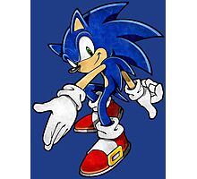 -GEEK- Sonic The Hedgehog Photographic Print