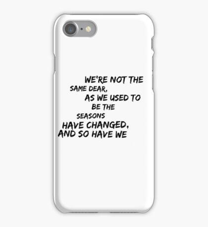 DCFC iPhone Case/Skin