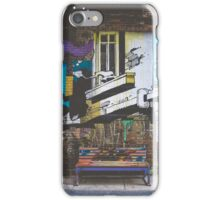 Graffiti Bench iPhone Case/Skin