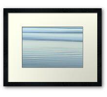 White Light Framed Print