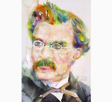 FRIEDRICH NIETZSCHE - watercolor portrait.9 Unisex T-Shirt