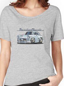 Cartoon retro car Women's Relaxed Fit T-Shirt