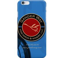 Gander Way Vineyards iPhone Case/Skin