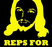 REPS FOR JESUS YELLOW by BelfastBoy