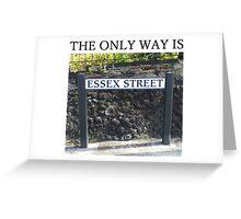TOWIE STREET Essex Greeting Card