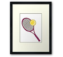 Sport ball Framed Print