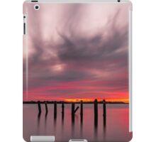 Clouds on Fire - Cleveland Qld Australia iPad Case/Skin