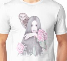 Moonlight And Roses Unisex T-Shirt