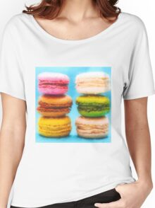 Macaron Love Women's Relaxed Fit T-Shirt