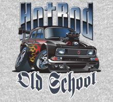 Cartoon Hot Rod One Piece - Short Sleeve
