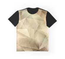 Abstract Crystal Background Graphic T-Shirt