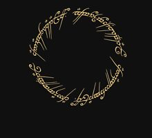 LOTR - Ring Inscription Unisex T-Shirt