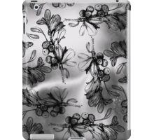Monochrome Berries iPad Case/Skin