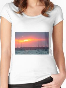 Overnight Mooring Women's Fitted Scoop T-Shirt