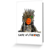 Game of Thrones - The citric is coming Greeting Card