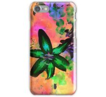 Watercolor Flower numero tres (sideways) iPhone Case/Skin