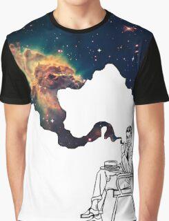 Galaxy Smoke Graphic T-Shirt