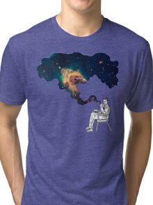 Galaxy Smoke Tri-blend T-Shirt