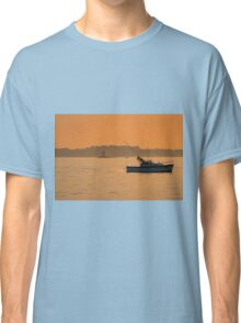 Fishing The Evening Tide Classic T-Shirt