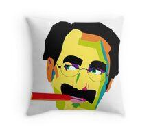 Groucho Throw Pillow