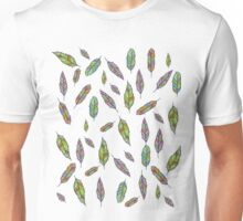 Many Feathers - Feather  Unisex T-Shirt