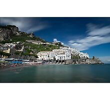Time moves slowly in Amalfi (3) Photographic Print