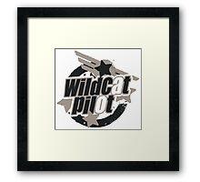 Wildcat Pilot Framed Print