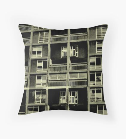 Good old fashioned inner city deprivation! Throw Pillow