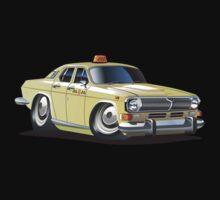 Cartoon taxi car One Piece - Short Sleeve