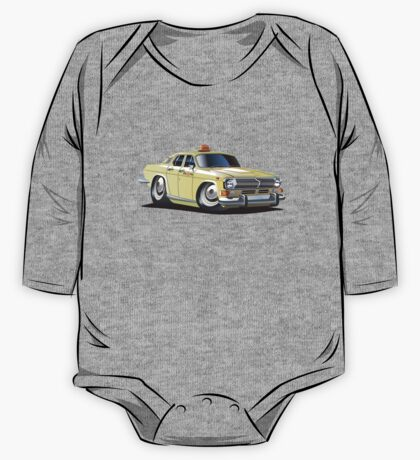 Cartoon taxi car One Piece - Long Sleeve