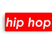 Hip hop Canvas Print