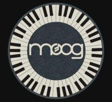 Wonderful vintage moog synth One Piece - Short Sleeve