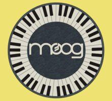 Wonderful vintage moog synth Baby Tee